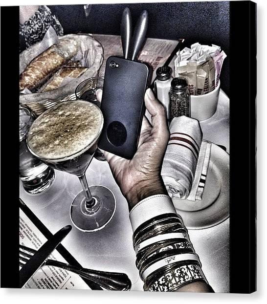 Martini Canvas Print - Essssspresso Martini...bunnny Ear by PhotoFashion ObsessedNYC