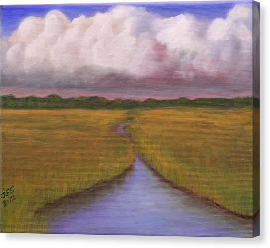 Estuary Storm Canvas Print