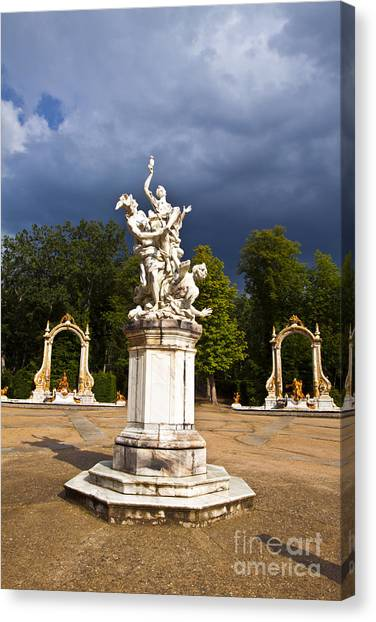 Eternal Hermes - La Granja Gardens Canvas Print by Scotts Scapes