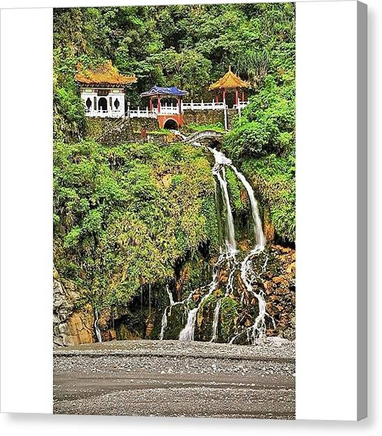 Trip Canvas Print - Eternal Spring Shrine, Also Called by Tommy Tjahjono