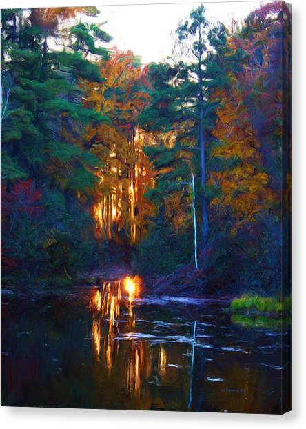 Ethereal Changing Light Canvas Print