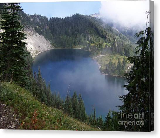Eunice Lake  Canvas Print