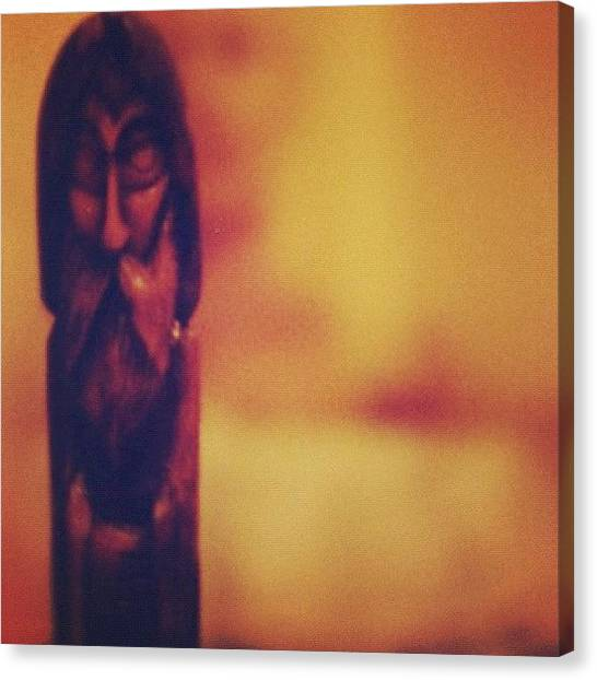 European Canvas Print - #european #wax #candle #sculpture #art by Michael Lynch