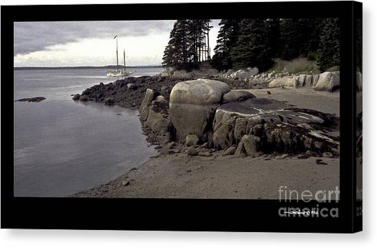 Evening Anchorage Canvas Print