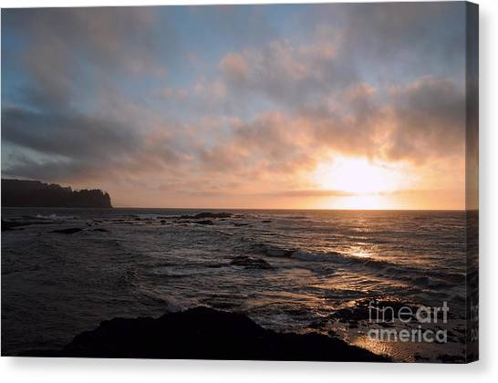Evening On The Straits Canvas Print