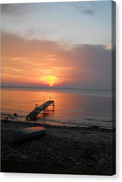 Evening Rest Canvas Print