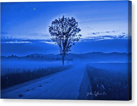 Evening Star Canvas Print