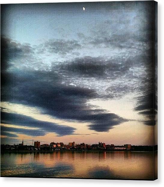 Maine Canvas Print - Evening Walk-062812 #sky #dusk by Chris T Darling