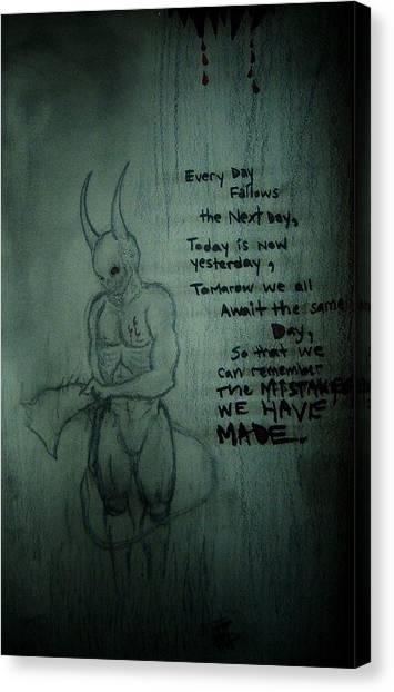 Every Day Canvas Print by Ragdoll Washburn