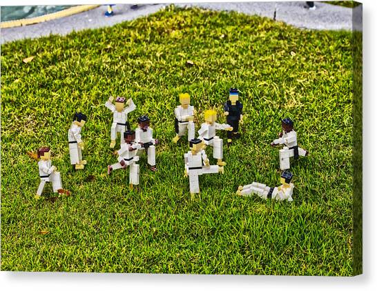 Taekwondo Canvas Print - Everybody Was by Nicholas Evans