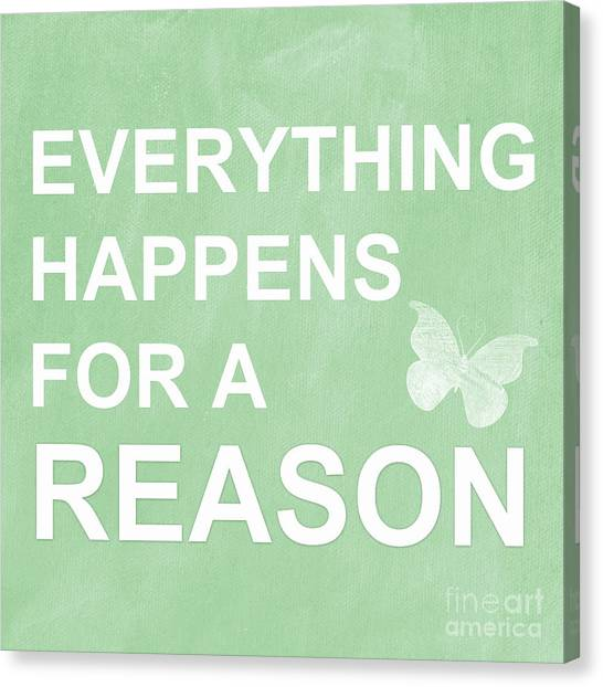 Butterflies Canvas Print - Everything For A Reason by Linda Woods