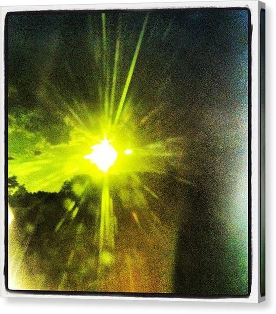 Venus Canvas Print - #exlipse #venus #sun #weldingshield by Dylan Ferris