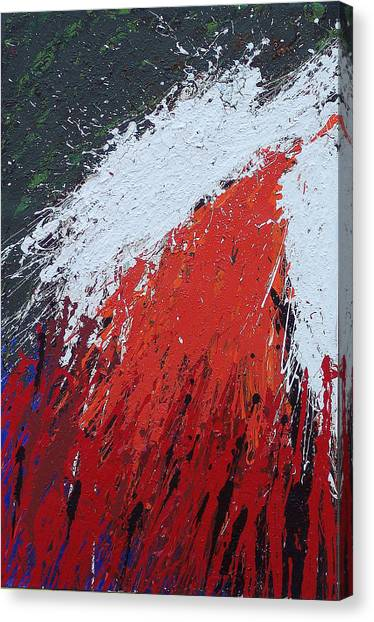 Explosion 1 Canvas Print by Brian Rock