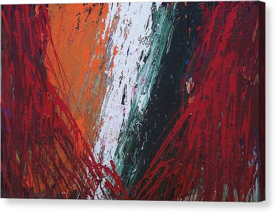 Explosion 2 Canvas Print by Brian Rock