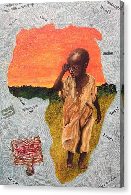 Expropriated -stolen Canvas Print by Peter Edward Green