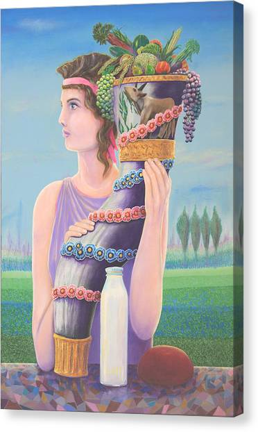 Extant Canvas Print by Purvis Evans