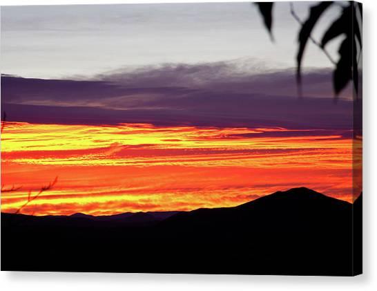 Extreme Sunrise Canvas Print