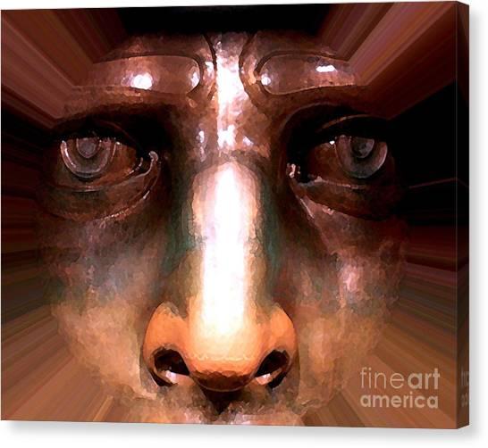 Eyes Of Liberty Canvas Print