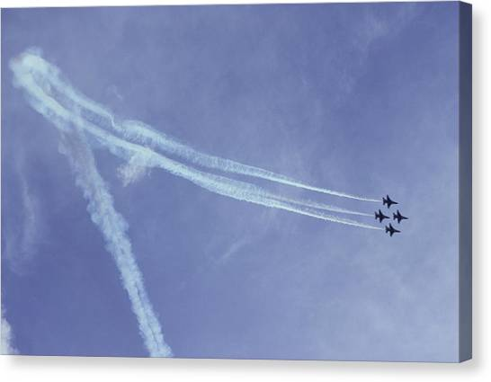 F16s In Formation Canvas Print