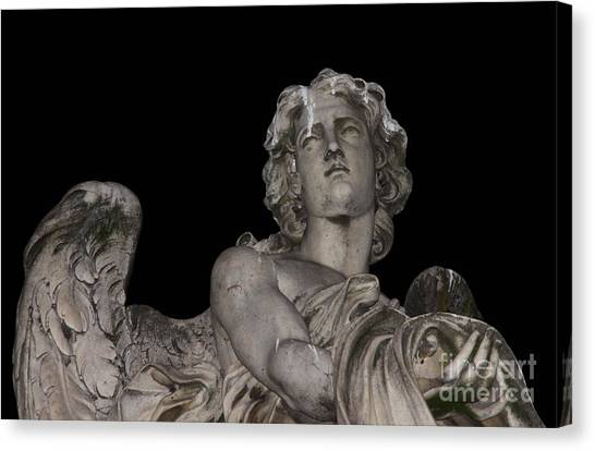 Face Of An Angel Canvas Print by Chris Hill