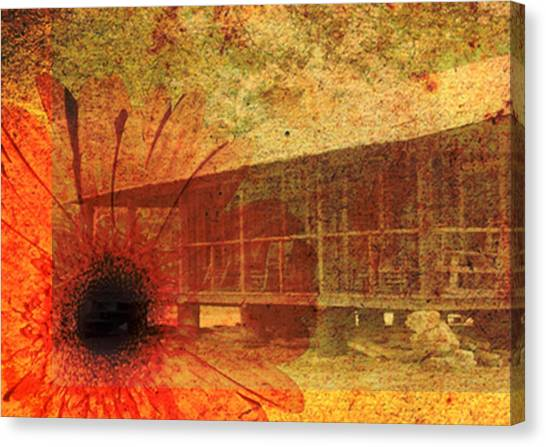 Canvas Print featuring the photograph Faded Memories by Judy Hall-Folde