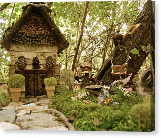 Faerie Garden Canvas Print by Azthet Photography