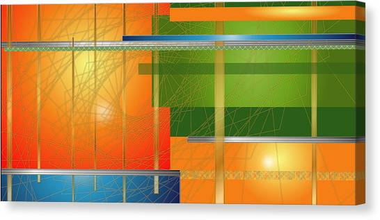 Failing Perspective Limited Edition Canvas Print