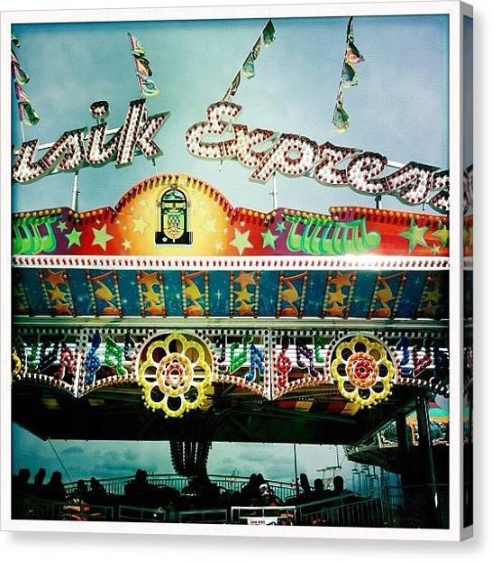 Big Red Canvas Print - #fair #carnival #festival #corndog by Dayna Wilson