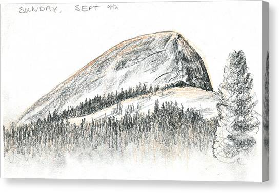 Canvas Print - Fairview Dome by Logan Parsons