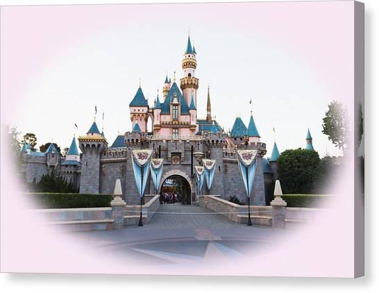 Fairytale Castle Canvas Print