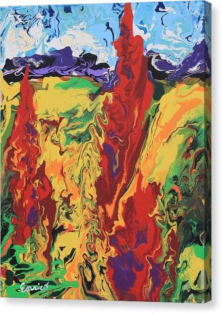 Fall Fandango Canvas Print