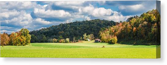 Fall Farm Canvas Print