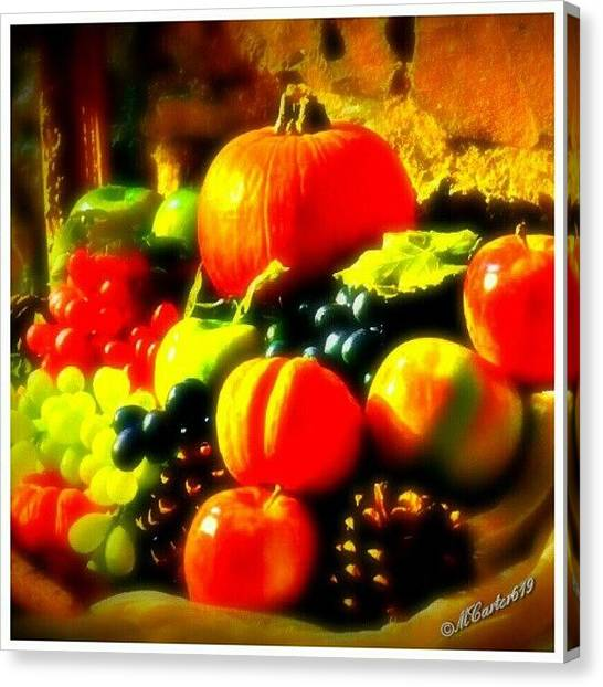 Harvest Canvas Print - Fall Harvest. #jj_forum_0439 #altexpo by Mary Carter