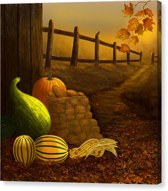 Fall Harvest Canvas Print