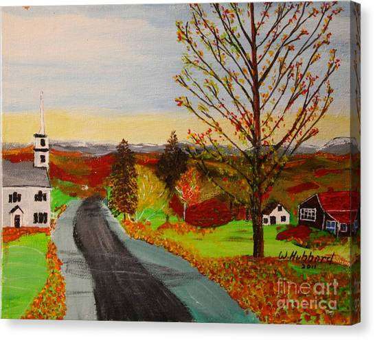 Fall In New Hampshire Canvas Print
