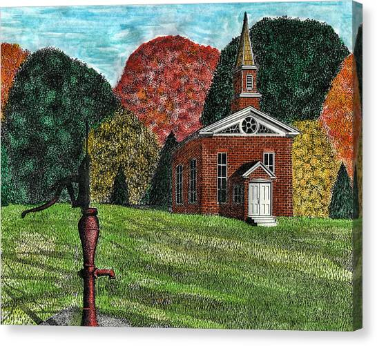 Fall Is Coming Canvas Print by Mike OBrien
