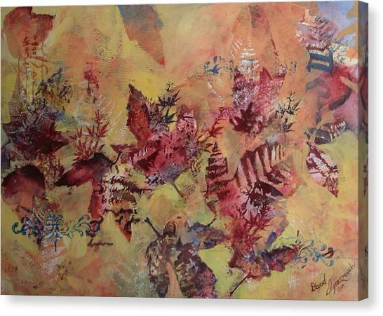 Fall Maples Canvas Print by David Ignaszewski