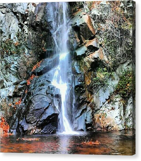 Waterfalls Canvas Print - Falls In Fall by Scott Freeman