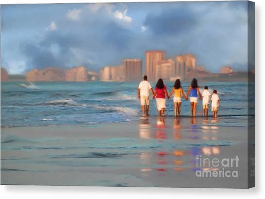 Family Values Canvas Print