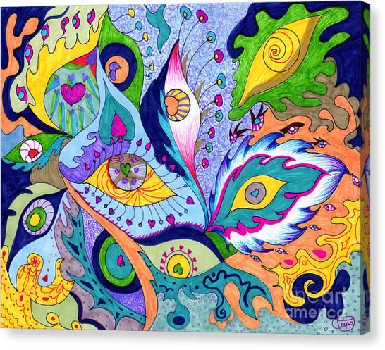 Fantas Eyes Canvas Print