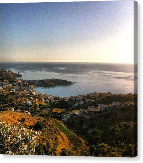 Greece Canvas Print - Fantastic View by Spyros Papaspyropoulos