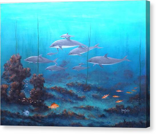 Fantasy Reef Canvas Print