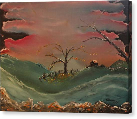 Far Far Away  Canvas Print by Shadrach Ensor