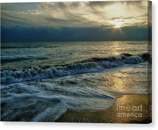 Farewell To The Sea Canvas Print