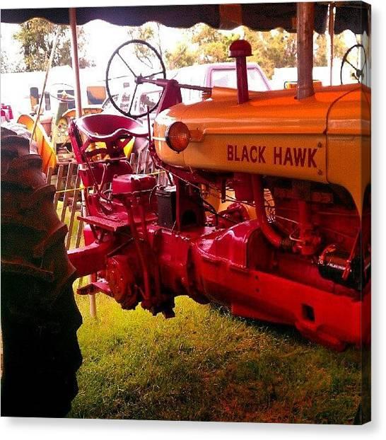 Tractors Canvas Print - #farm #vintage #tractor #antique by Rich Toczynski