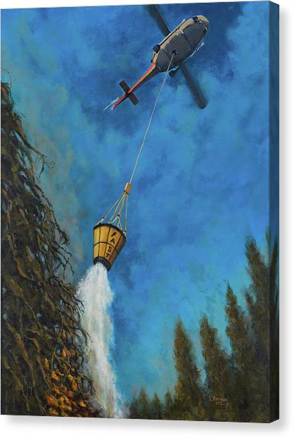 Fastbucket Drop Canvas Print