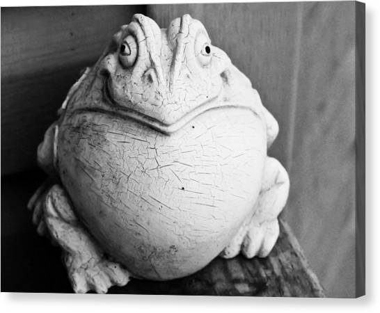 Fat And Happy Canvas Print