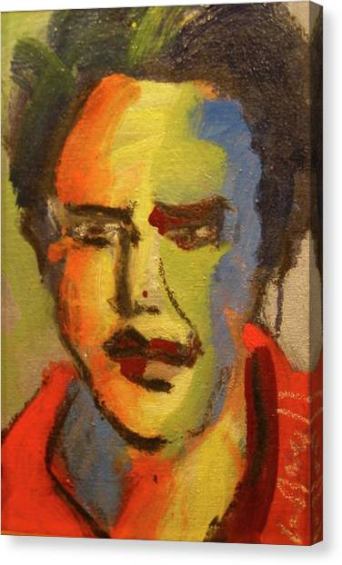 Fauvist Elvis Canvas Print