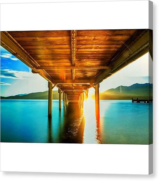 Vacations Canvas Print - #feature_photo #bride #morning #sunrise by Tommy Tjahjono