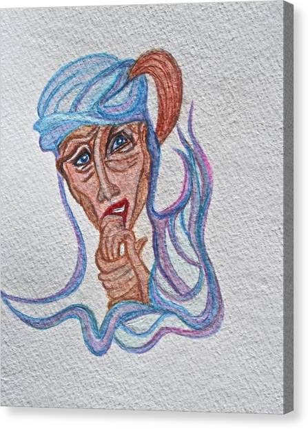 Feelings Canvas Print by Ruth Edward Anderson